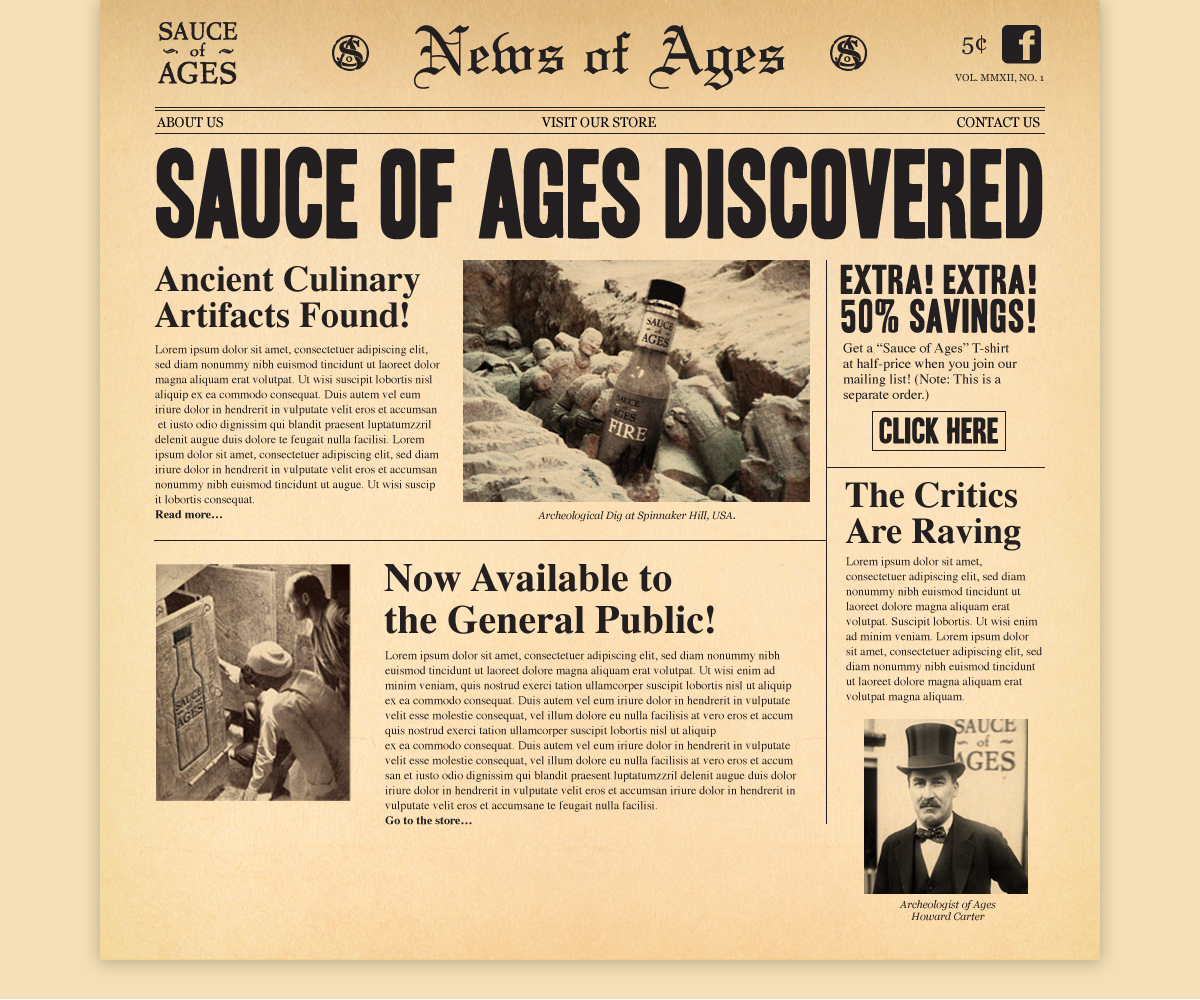 Sauce of Ages